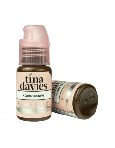 Perma Blend Tina Davies Pigment - Dark Brown (15ml)